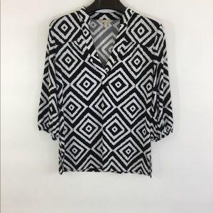 BANANA REPUBLIC 3/4 Length Shirt